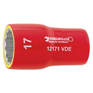 STAHLWILLE(スタビレー) 12171VDE-8 (3/8SQ)絶縁ソケット (02380008)