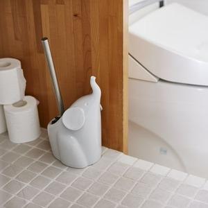 Dieu de toilette(デュー・デ・トイレット) トイレブラシ Elephant(エレファント) グレー