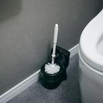 トイレブラシセット「 toilet(トイレット)」ブラック