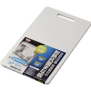 【50セット】リス 耐熱抗菌まな板L ホワイト