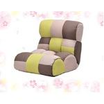 ソファのような快適座椅子 ピグレットJr FOREST 41段リクライニング ポケットコイル64ヶ入り