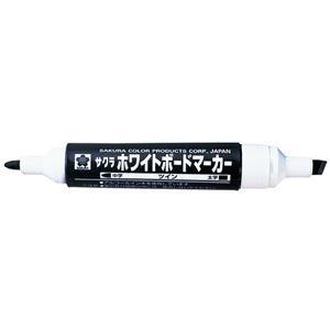 (業務用10セット) サクラクレパス ホワイトボードマーカーツイン WBK-T黒10本
