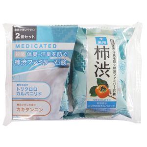 (業務用20セット) ペリカン石けん 薬用ファミリー柿渋石鹸2P PKSBMD2