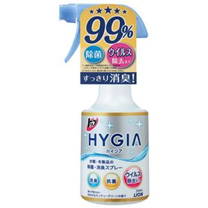 (まとめ) ライオン ハイジア除菌・消臭スプレー 本体 350mL【×10セット】