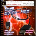 USBケーブル型音声レコーダー(匠ブランド)『Wiretap』(ワイヤタップ)