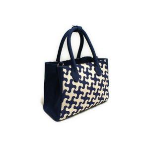 創作和柄バッグ『和'g』藍色(ネイビー) レディース 2WAY ハンドバッグ ショルダーバッグ 帆布8号 上質 和装 洋装 フォーマル カジュアル
