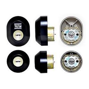 トステム URシリンダー 玄関 鍵取替え用シリンダー 2個同一キー仕様/D3XZ1901