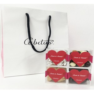 チョコレートセット/お菓子詰め合わせ Cubetas St. Valentine's Day バージョン 〔バレンタイン 本命 義理 贈り物〕