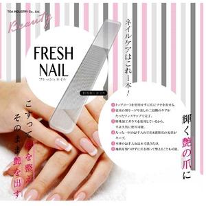 簡単つめ磨き「フレッシュネイル」×10個セット