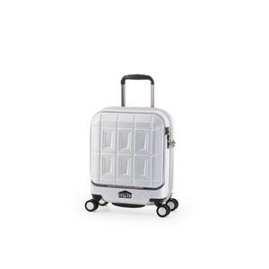 スーツケース 【マットブラッシュホワイト】 21L コインロッカー可 機内持ち込み可 アジア・ラゲージ 『PANTHEON』