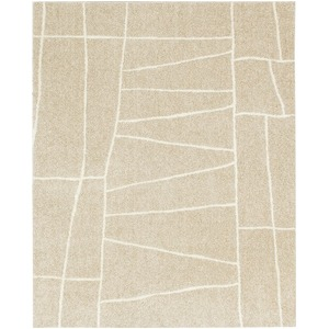 ラグマット カーペット 長方形 ホットカーペット対応 日本製 『ジオーニ』 ベージュ 190×240cm