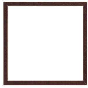 大額 角額 MULTI BOX F 200角 ブラウン アクリル 【23.7×24.6×4.9cm】