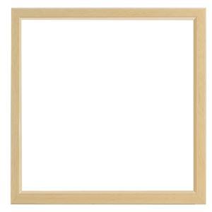大額 角額 MULTI BOX F 200角 ナチュラル アクリル 【23.7×24.6×4.9cm】