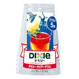日本デキシー クリアーグラス(パーティー) 310ml 5個 × 5 点セット