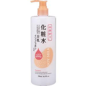 (まとめ)熊野油脂 四季折々 豆乳イソフラボン 化粧水 【×3点セット】