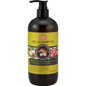 (まとめ)熊野油脂 ディブ 3種のオイル シャンプー(馬油・椿油・ココナッツオイル) 本体 【×3点セット】