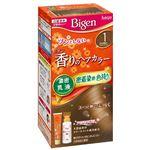 ホーユー ビゲン 香りのヘアカラー 乳液 1 かなり明るいライトブラウン × 3 点セット