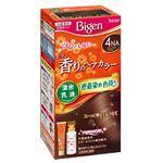 ホーユー ビゲン 香りのヘアカラー 乳液 4NA ナチュラリーブラウン × 3 点セット