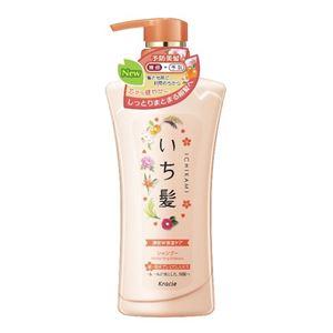 (まとめ)クラシエ いち髪 濃密W保湿ケア シャンプー ポンプ 【×3点セット】