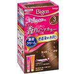 ホーユー ビゲン 香りのヘアカラー クリーム 3 明るいライトブラウン × 3 点セット
