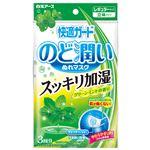 白元 快適ガードのど潤いぬれマスクグリーンミントの香りレギュラーサイズ3セット入 × 10 点セット