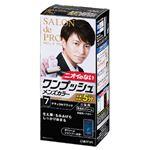 ダリヤ サロンドプロ ワンプッシュメンズカラー(白髪用) 7【ナチュラルブラック】 × 3 点セット