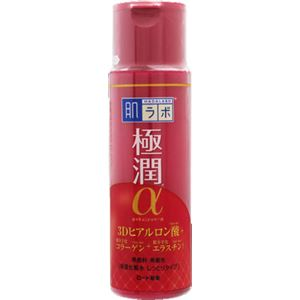 (まとめ)ロート製薬 肌ラボ 極潤αハリ化粧水しっとりタイプ 170ml 【×3点セット】