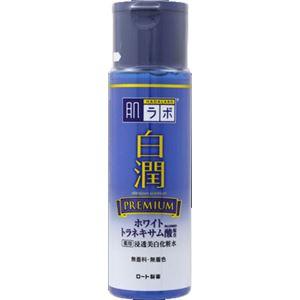 (まとめ)ロート製薬 肌ラボ 白潤プレミアム 薬用浸透美白化粧水 170mL 【×3点セット】