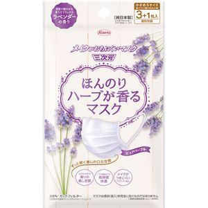 興和新薬 ほんのりハーブが香るマスクラベンダーの香り3+1枚 × 10 点セット