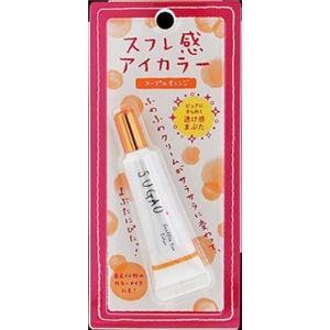 ロート製薬 SUGAO スフレ感アイカラー メープルオレンジ 7g × 3 点セット