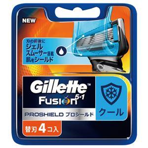 ジレット プロシールド クール替刃4B × 10 点セット