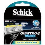 シック(Schick) クアトロ4チタニウムレボリューション替刃(4コ入) × 12 点セット