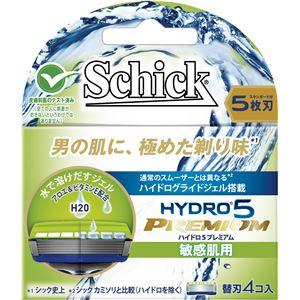 シック(Schick) ハイドロ5プレミアム 替刃 敏感肌用(4コ入) × 12 点セット