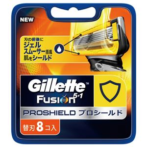 ジレット プロシールド 替刃8B × 10 点セット