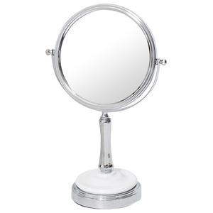 デスクミラー/卓上鏡 【幅21cm×奥行13cm×高さ32cm】 片面3倍拡大鏡