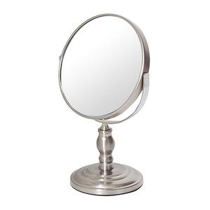 デスクミラー/卓上鏡 【幅16cm×奥行10.6cm×高さ25.4cm】 片面3倍拡大鏡