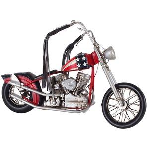 ブリキのおもちゃ 置き物 【バイク01】 材質:鉄 〔インテリアグッズ ディスプレイ雑貨〕