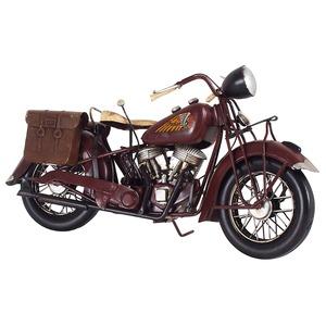 ブリキのおもちゃ 置き物 【バイク04】 材質:鉄 〔インテリアグッズ ディスプレイ雑貨〕