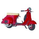 ブリキのおもちゃ 置き物 【バイク07】 材質:鉄 〔インテリアグッズ ディスプレイ雑貨〕
