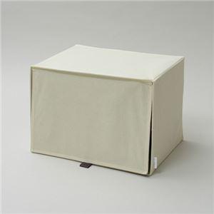 【4個セット】シサック 上置きボックス アイボリー CQ-UO-IV