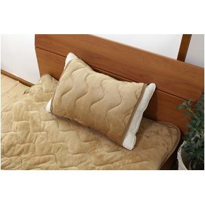 なめらか枕パッド フリーサイズ ベージュ