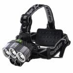 Tomo Light(トモライト) LEDヘッドライト 充電式 ヘッドライト 対防水コーティング ヘッデン 高輝度LED 3734ルーメン仕様 5点灯 防災 釣り 夜釣り
