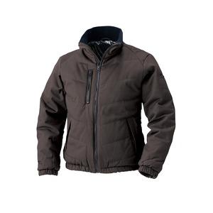 村上被服製 6233 ソフト綿素材・保温裏アルミ 防寒ブルゾン ブラウン M