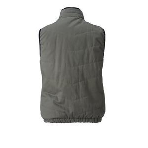 村上被服製 6299 ソフト綿素材・保温裏アルミ 防寒ベスト OD 3L