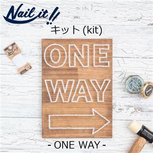 Nail it!!(ネイルイット) キットNo.001 ONE WAY &糸ホワイト(1巻) [ストリングアート]