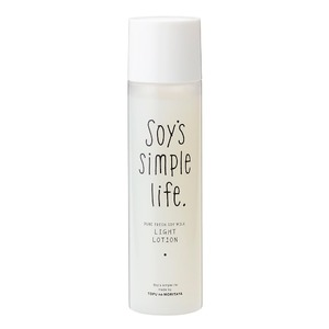 Soy's simple life 生豆乳ローション(さっぱり)120mL