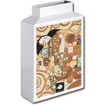 ミュージアムアート フラワーベース MV-04003 Mサイズ・タテ クリムト 「抱擁」