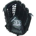 軟式野球グローブ一般用 ブラック 12インチ