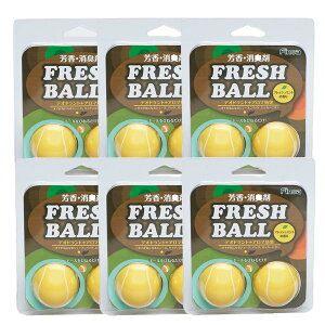 フレッシュボール テニス 6個セット