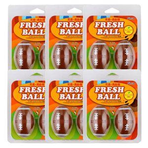 フレッシュボール アメリカンフットボール 6個セット